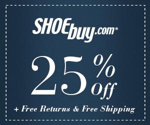 25% Off at Shoebuy.com!