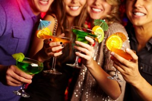 Throw a fun and frugal cocktail party today! Via Shutterstock.