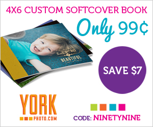 Soft Cover Photo Book Only 99 Cents!