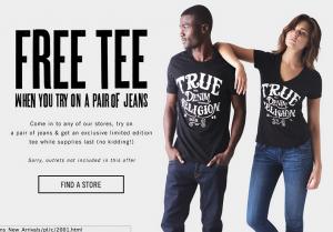 Score a FREE T-shirt