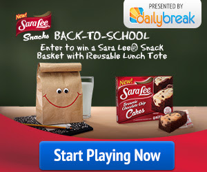 Sara Lee Back-To-School Sweepstakes!