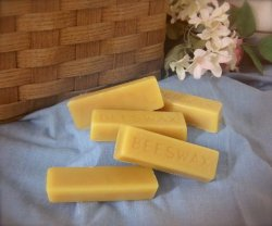 100% Organic Hand Poured Beeswax Under $5!