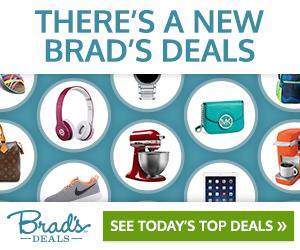 Brad's Deals: Up to 90% Off Top Brands!