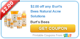 Coupons:  Burt's Bees, Glade, and More!