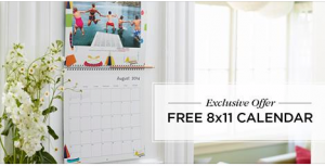 Score a FREE photo calendar from Shutterfly today!