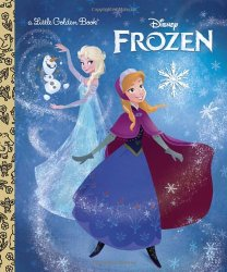 Hardcover Frozen Storybook Under $3!
