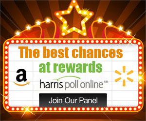 Harris Poll Online: Rewards for Surveys!