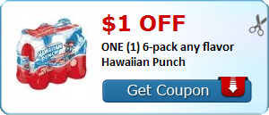 Coupons: Ziploc, Suave, Hawaiian Punch and More!