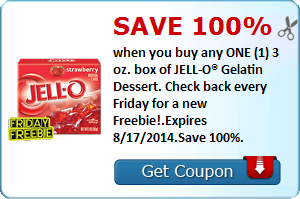 Coupons: Pilsbury, JELL-O, Minute Maid and More!