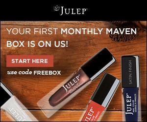 Julep Maven: Free Box of Beauty Products!