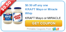 Coupons:  Kraft, Opti-Free, Minute Maid and More!