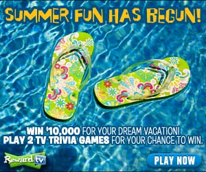 RewardsTV Dream Vacation $10,000 Giveaway