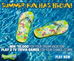 Reward TV $10,000 Sweepstakes!