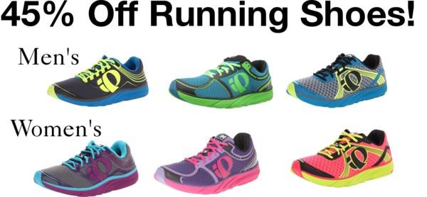 HOT! 45% Off Pearl Izumi Running Shoes!