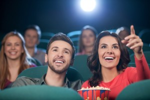 Score four FREE movie tickets today! Via Shutterstock.