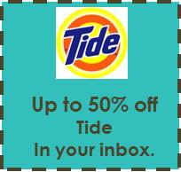 Up to 50% Off Tide!