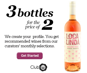 Club W: B2G1 Free Wine!