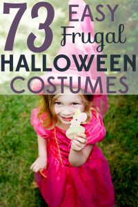 Are you out of ideas for this year's Halloween costume? We've got 73 easy, frugal Halloween costumes for adults and kids!