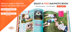 Score a FREE hardcover photo book from Shutterfly today!
