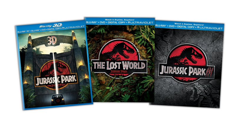 Jurassic Park Trilogy Only $29.99!