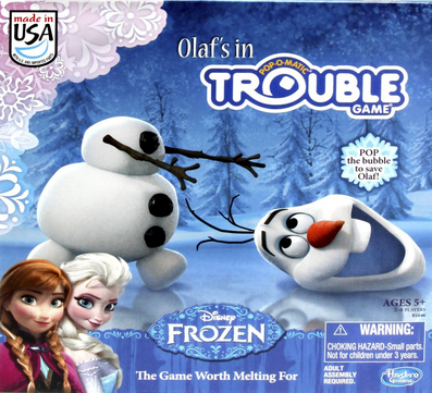 HOT! Frozen Olaf's in Trouble Game Under $15!