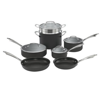 TODAY ONLY! Up to 75% Off Select Cuisinart Cookware Sets!