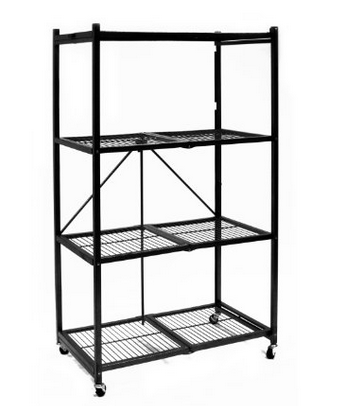 HOT! 40% Off Origami 4-Shelf Collapsible Storage Racks!