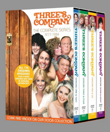 Amazon Exclusive: Three's Company Complete Series 63% Off!