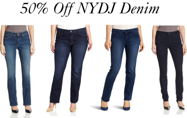 TODAY ONLY! 50% Off NYDJ Denim!