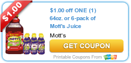 Coupons: Newman's Own, Kellogg's, Mott's and More!