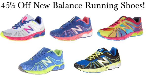 45% Off New Balance Running Shoes!