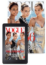 HOT! $6 Vogue Magazine Subscription & FREE Clutch!