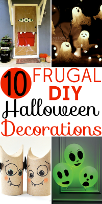 Check out these 10 Easy DIY Halloween Decorations to add some spooky fun to your home without a big price tag!