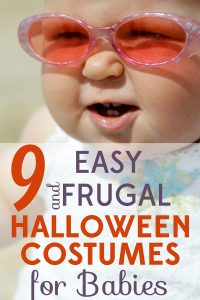 These Halloween costumes for babies ideas provide quick, easy, and cheap ways to deck out the little munchkin!