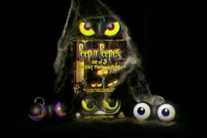 Flashing Eyes Halloween Lights Only $12.22!