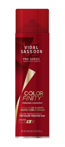 Vidal Sassoon Colorfinity Finishing Hairspray Only $0.24!