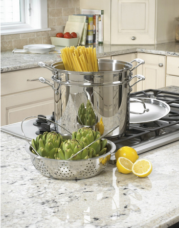 Cuisinart Chef's Classic Stainless 4-Piece 12-Quart Pasta/Steamer Set Only $52.99 (Reg. $150!)