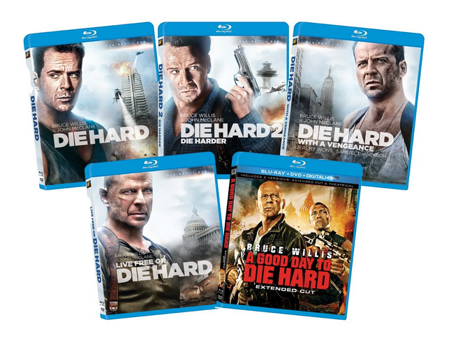 The Die Hard 1-5 Collection [Blu-ray] Only $31.99 (Reg. $99.99!)