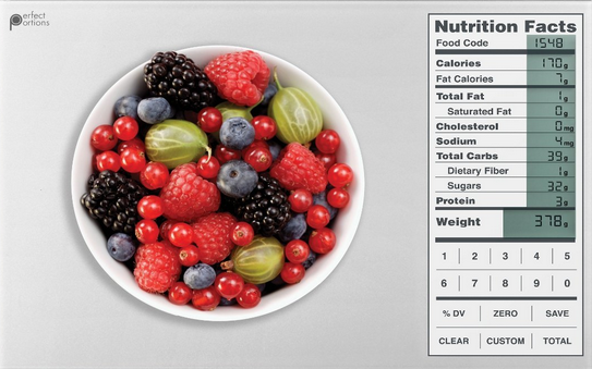 HOT! Perfect Portions Digital Scale + Nutrition Facts Display Only $24.99 (reg. $59.99!)