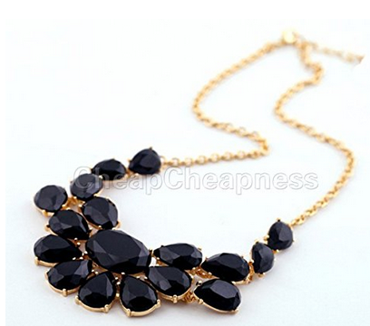 Stone Pendant Statement Necklaces $2.99 + FREE Shipping!