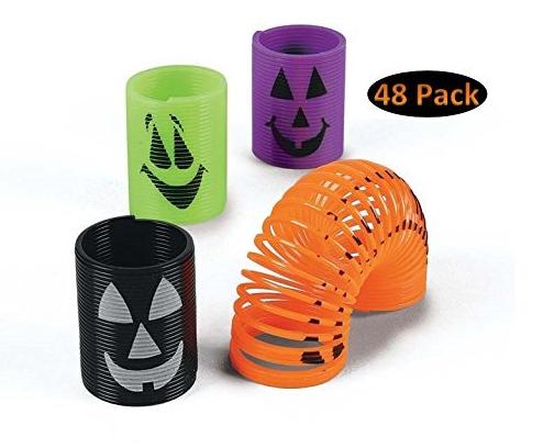 48 Mini Halloween Slinkies Only $11.95 (reg. $27.95!)