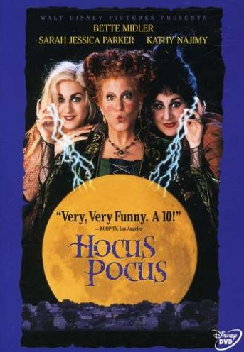 Highly Rated Hocus Pocus DVD Only $6.99 (Reg. $14.99!)