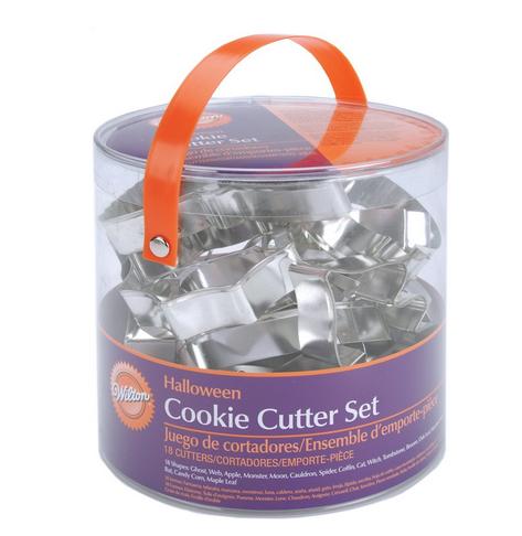 18-Piece Wilton Halloween Metal Cookie Cutter Set Only $10.56 (Reg. $13.49!)