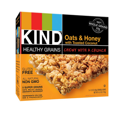 15 KIND Bars for $8.52 – Just $0.57 each!