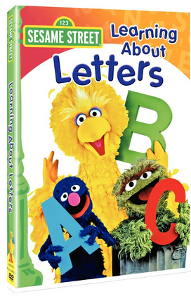 Sesame Street – Learning About Letters DVD Only $5 (Reg. $9.95!)