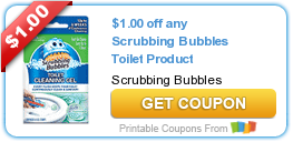 Coupons: Kellogg's, Scrubbing Bubbles, and More!