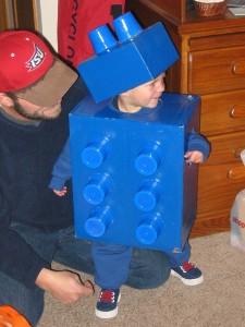 Baby Lego costume