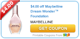 Coupons: DayQuil, Snuggle, Maybelline and More!