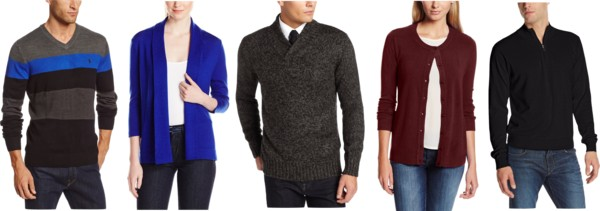 TODAY ONLY! 60% Off Men's and Women's Sweaters!