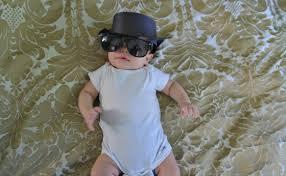 Walter White baby costume